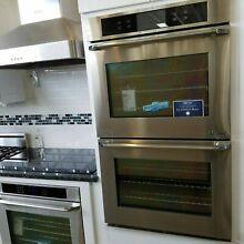 DYO230S  DACOR IQ SERIES DOUBLE WALL OVEN STAINLESS DISPLAY MODEL