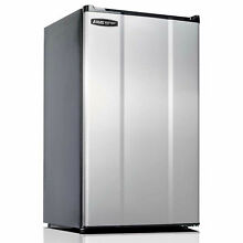 Microfridge 3 6 Cu  Ft  Refrigerator  Auto Defrost  ESR  Stainless Steel  Lot of