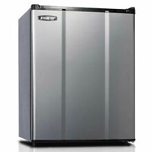 Microfridge 2 3 Cu  Ft  Refrigerator  Auto Defrost  ESR  Stainless Steel  Lot of