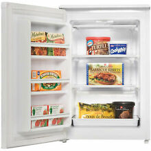 Danby 4 3 Cu  Ft  Upright Freezer  White  Energy Star Compliant  23 3 8 W x