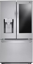 LG 36 Inch Counter Depth French Door Refrigerator Stainless Steel LFXC22596S