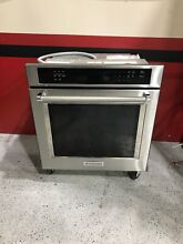 KitchenAid KOSE507ESS 27  Stainless Steel Single Wall Oven Self Cleaning New
