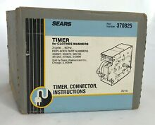 Sears OEM P N  370825 Washing Machine Timer Part for Kenmore   Whirlpool  Washer