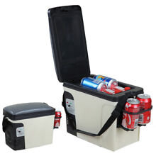 SMAD DC 12V Vehicle Compact Thermoelectric Cooler   Warmer 6L Mini Car Fridge