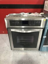 Whirlpool 24  Self cleaning Single Electric Wall Oven Stainless Steel WOS51ES4ES