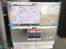 NEW Out Of Box 30  Sub Zero Undercounter Fridge Freezer Drawer Combo W ice maker