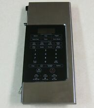 Kenmore Samsung Microwave Oven Stainless   Black Control Panel Keypad Assembly