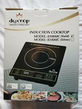 DUXTOP 1800 Watt Single Portable Induction Cooktop Countertop Burner  Black