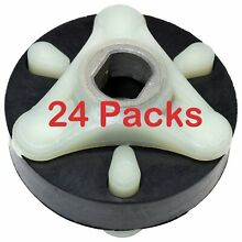 285753A FITS WHIRLPOOL KENMORE  NEW HEAVY DUTY WASHER MOTOR COUPLING 24 Pack