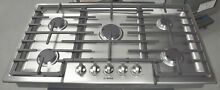 Bosch 800 Series NGM8655UC 37  Gas Cooktop Stainless Steel