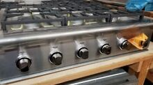 NEW OUT OF BOX DCS 36  RANGETOP 6 BURNER STAINLESS STEEL