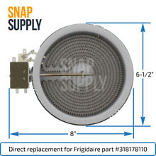 Snap Supply Surface Element for Frigidaire Directly Replaces 318178110