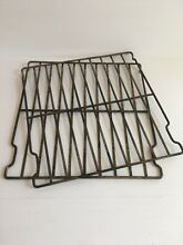 Norge Vintage oven range stove racks metal shelves parts retro antique