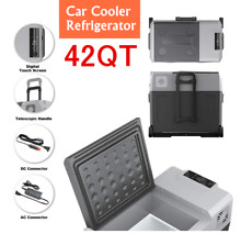 42QT Portable Electric Car Cooler Refrigerator Freezer Compressor Picnic Camping