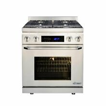 Dacor DR30D C NG 30 Inch Pro Style Slide In Dual Fuel Range Convection
