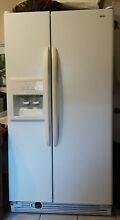 Kenmore Refrigerator 25 1 Side by Side with Water Filter and Ice Maker