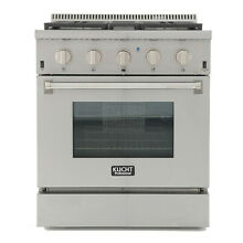 Pro Style 30 in  4 2 cu  ft  Dual Fuel Range with Sealed Burners and Convection