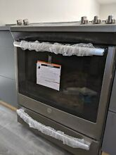 GE JGS760SELSS 30in Slide In Convection Gas Range Oven   Stainless Steel