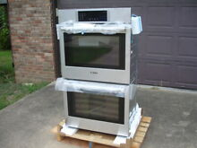 Bosch 800 Series 30  Stainless Steel Double Wall Oven HBL8651UC 03 NEW