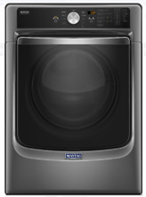 NEW  Maytag MGD8200FC 27 Inch 7 4 cu  ft  GAS Dryer with Steam Metallic Slate