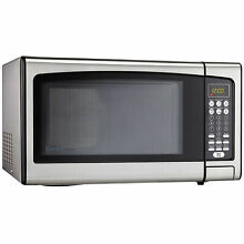 Microwave Oven 1 10 Cu  Ft  Stainless Steel  DMW111KPSSDD   1000 Watts  Lot of