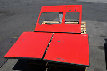 ORIGINAL Qty  3  Panels ONLY Vintage 1950 s RED Chambers Gas Oven Stove Model C
