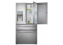 Samsung RF30HBEDBSR 36 Inch French Door Refrigerator with 29 5 cu  ft  Capacity