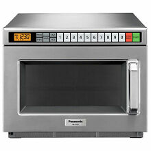Panasonic NE 21521    Commercial Microwave Oven  0 6 Cu  Ft  2100 Watts  Lot of