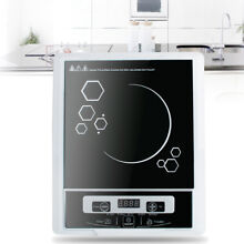 A 110V 1300W Portable Digital Electric Induction Cooktop Countertop Burner USA