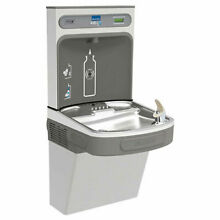 EZH20 Water Bottle Refilling Station  Single  Non Refrigerated  Stainless Steel
