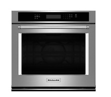 KITCHENAID 30  Single Electric Wall Oven STAINLESS STEEL KOSE500ESS