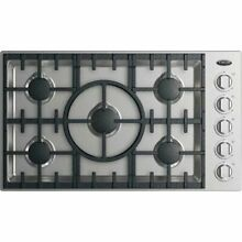 DCS CDV2365N 36 Inch Gas Cooktop with 5 Sealed Dual Flow Burners