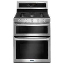 Maytag MGT8800FZ 30 Inch Freestanding Gas Range with Double Ovens