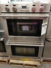NEW OUT OF BOX DCS 30  STAINLESS STEEL DOUBLE CONVECTION WALL OVEN