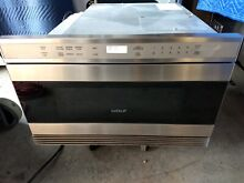 Wolf MWD24 2U S Transitional Drawer Microwave Stainless steel Built in