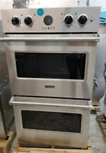 OPEN BOX VIKING 30  PROFESSIONAL SERIES 5 STAINLESS STEEL DOUBLE WALL OVEN