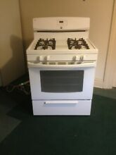 Kenmore 30  4 Burner Gas Range Stove with Broiler Drawer White   4 2 cu  ft