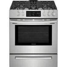 Frigidaire FFGH3054US 30  Slide in Stainless Steel Gas Range