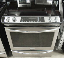 Frigidaire Gallery Series FGIS3065PF 30  Slide In Induction Electric Range
