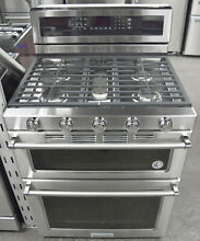 KitchenAid KFGD500ESS 30  Stainless Steel Gas Double Oven Convection Range