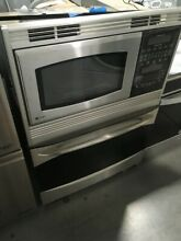 PT970SMSS GE PROFILE 30  COMBINATION WALL OVEN MICROWAVE STAINLESS DISPLAY DISCO