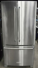 Kitchenaid KRFF302ESS 33  22 Cu  Ft  French Door Refrigerator