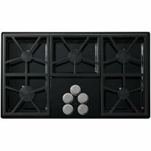 Dacor Distinctive Series DTCT365GBLP 36  Gas Cooktop with 5 Sealed Burners