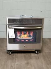 GE Profile PT9050SFSS 30 Inch Single Electric Wall Oven with 5 0 cu  ft  Wi Fi