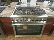 RN361GPSS Superiore NEXT SERIES 36  GAS RANGE   DISPLAY MODEL