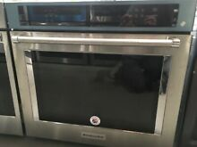KOSE500ESS KITCHENAID 30  SINGLE WALL OVEN  STAINLESS  NEW OUT OF BOX