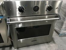 VSOE527SS VIKING 27  SINGLE WALL OVEN DISPLAY MODEL SCRATCHES