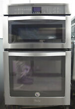 Whirlpool WOC54EC7AS 27  Microwave Combination Wall Oven Stainless Steel