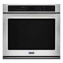 Maytag MEW9527FZ 27 Inch Electric Wall Oven with 5 0 cu  ft  Capacity