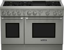 Thermador Pro Harmony Series PRG486GDH 48  Stainless Steel Gas Range